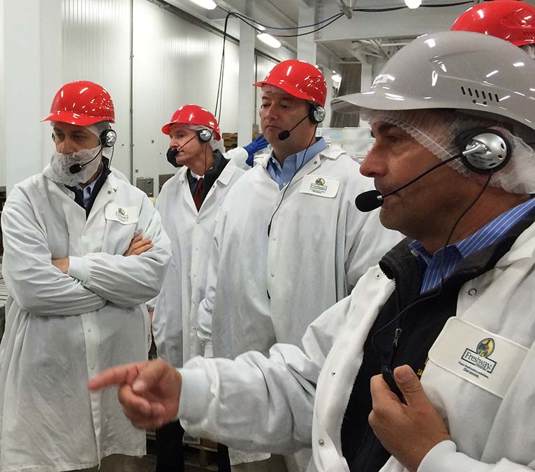 Food manufacturers meet at Freshway Foods