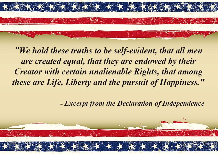 Celebrate Independence Day with these brave words from the founders of our nation.