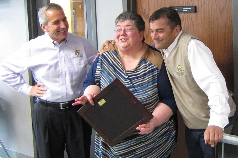 Frank Gilardi, Patsy Naseman and Phil Gilardi