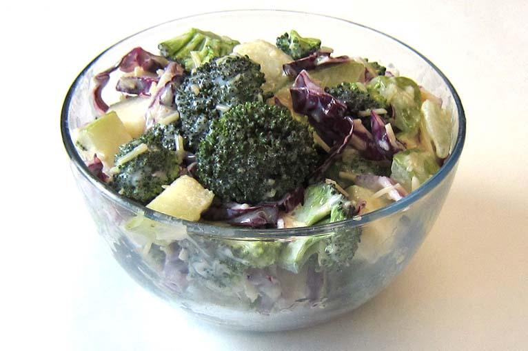 Pear Broccoli Salad